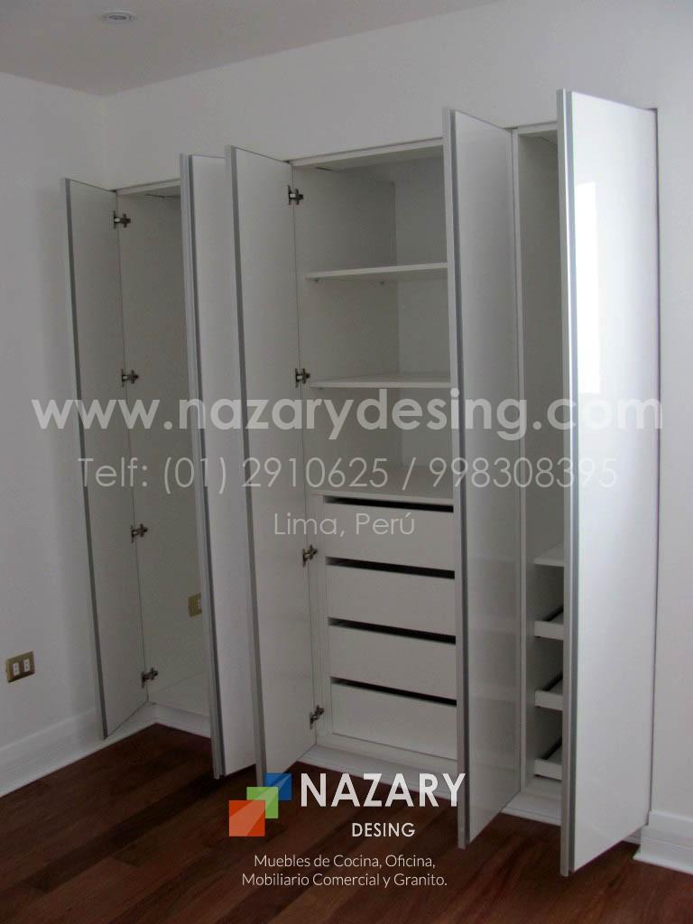 Closet de Diseño 16 | Nazary Desing SAC | Muebles de Cocina, Oficina ...
