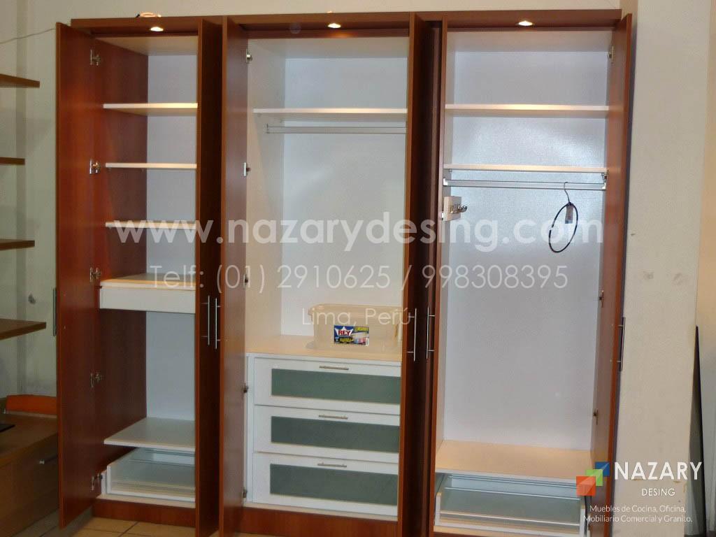 Closet de Diseño 21 | Nazary Desing SAC | Muebles de Cocina, Oficina ...