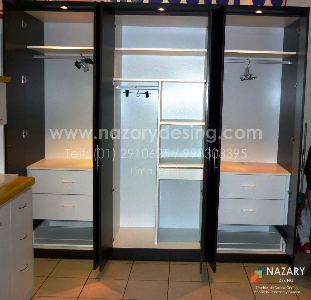 Closet de Diseño 22 | Nazary Desing SAC | Muebles de Cocina, Oficina ...