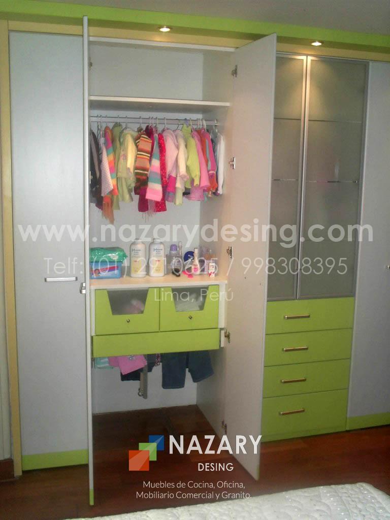 Closet de Diseño 24 | Nazary Desing SAC | Muebles de Cocina, Oficina ...