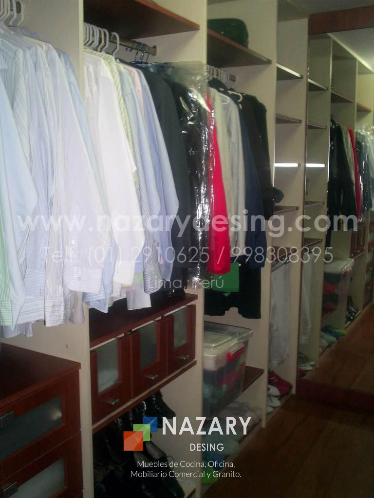 Closet de Diseño 25 | Nazary Desing SAC | Muebles de Cocina, Oficina ...