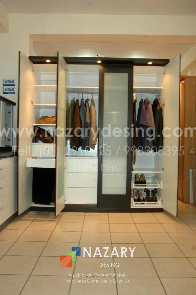 Closet de Diseño 2 | Nazary Desing SAC | Muebles de Cocina, Oficina ...
