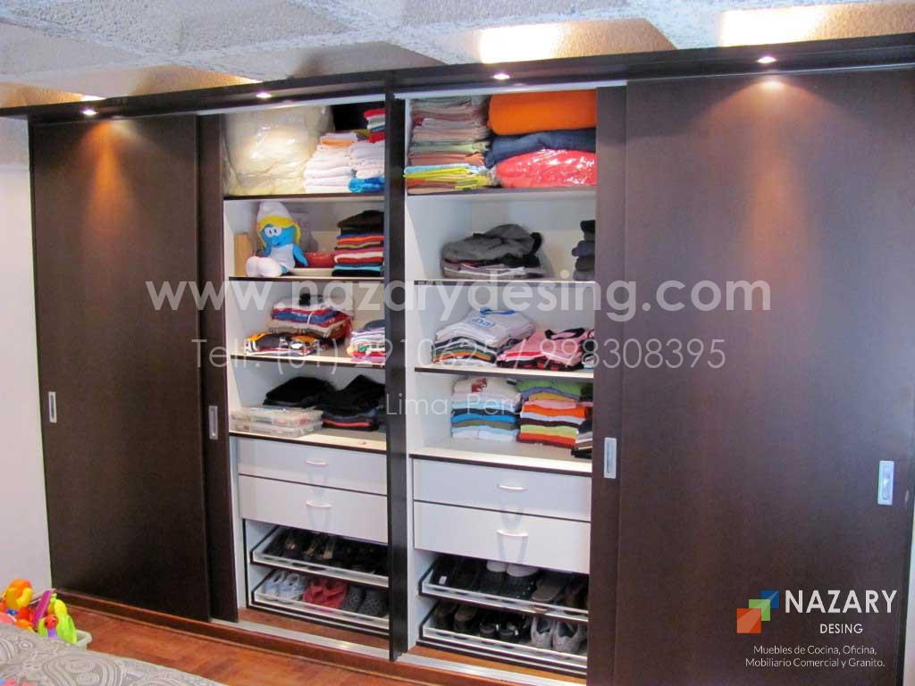 Closet de Diseño 3 | Nazary Desing SAC | Muebles de Cocina, Oficina ...