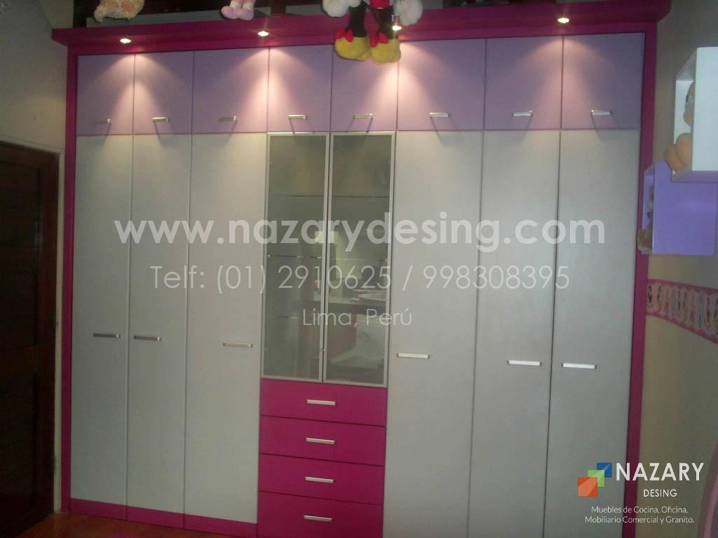 Closet de Diseño 4 | Nazary Desing SAC | Muebles de Cocina, Oficina ...