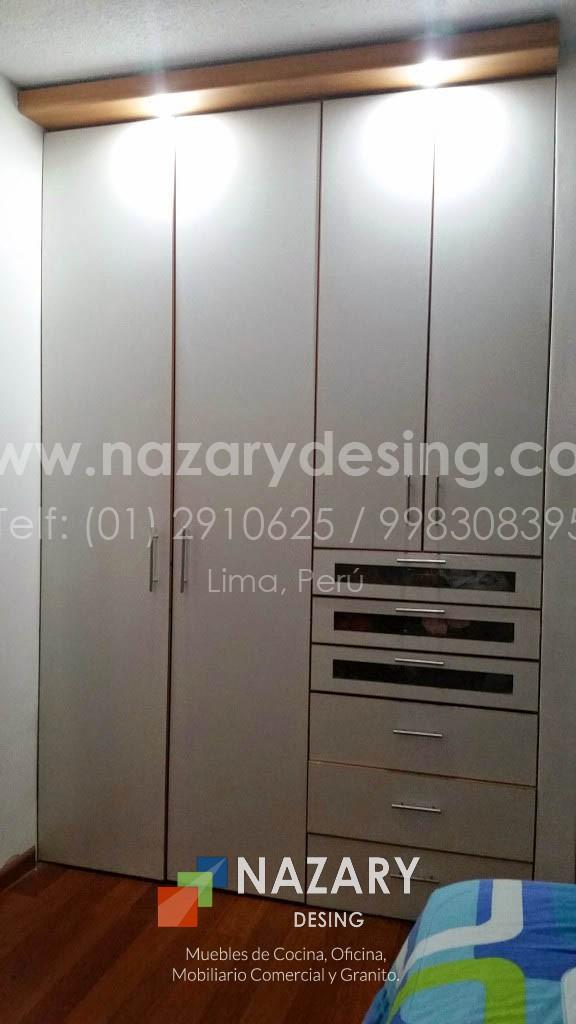 Closet de Diseño 9 | Nazary Desing SAC | Muebles de Cocina, Oficina ...