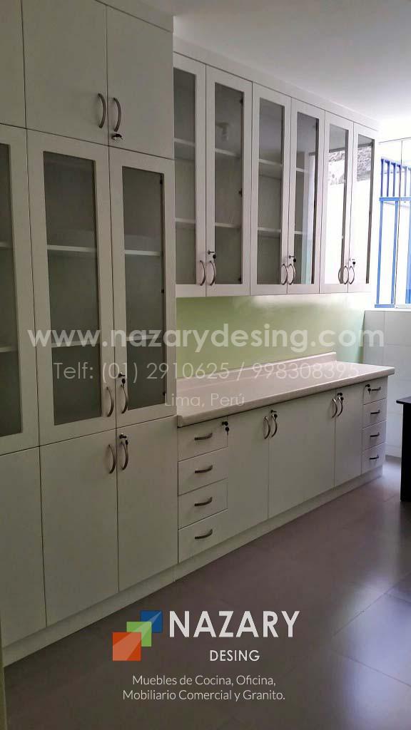 Cocina de Diseño 100 | Nazary Desing SAC | Muebles de Cocina ...