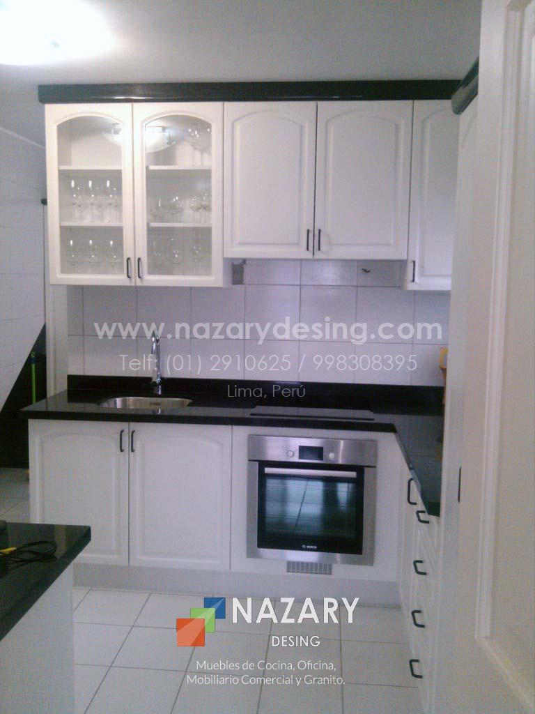 Cocina España | Nazary Desing SAC | Muebles de Cocina, Oficina ...