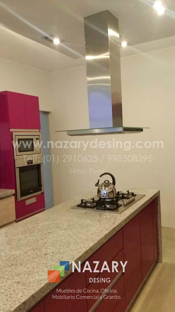 Cocina Carol 3 - Isla | Nazary Desing SAC | Muebles de Cocina ...