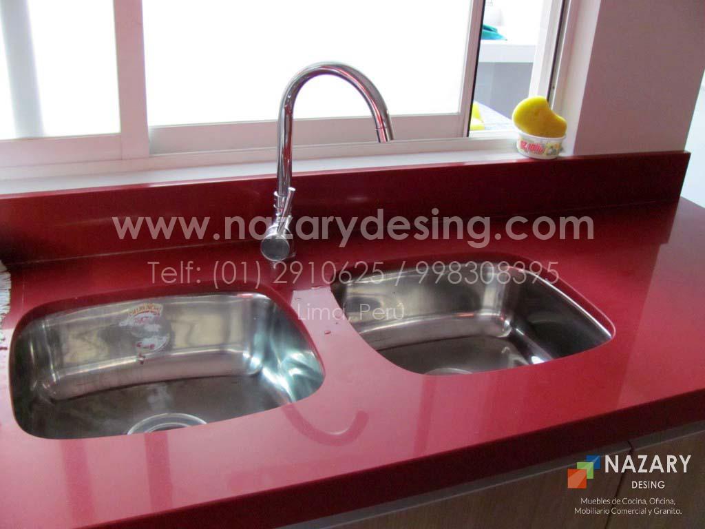 Cocina de Diseño 38 | Nazary Desing SAC | Muebles de Cocina, Oficina ...