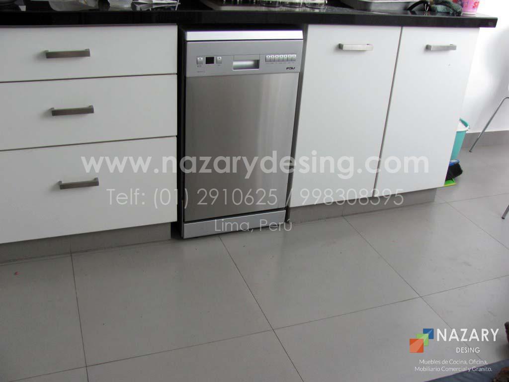 Cocina de Diseño 42 | Nazary Desing SAC | Muebles de Cocina, Oficina ...