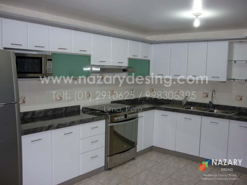 Cocina de Diseño 60 | Nazary Desing SAC | Muebles de Cocina, Oficina ...